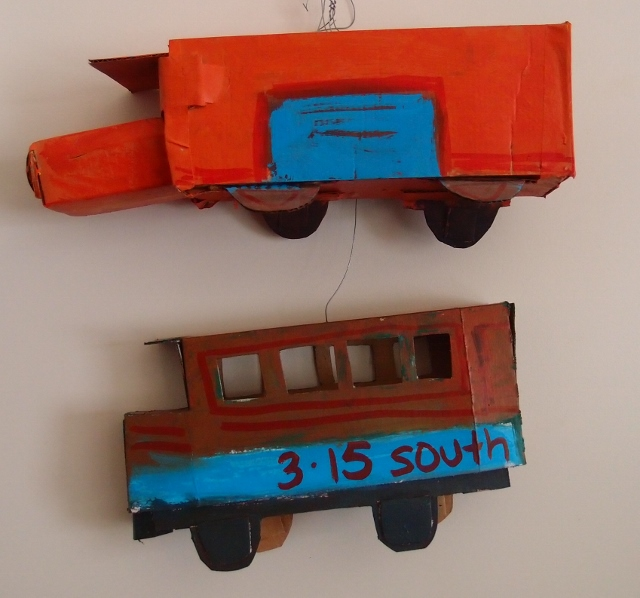 kim barter cardboard toys
