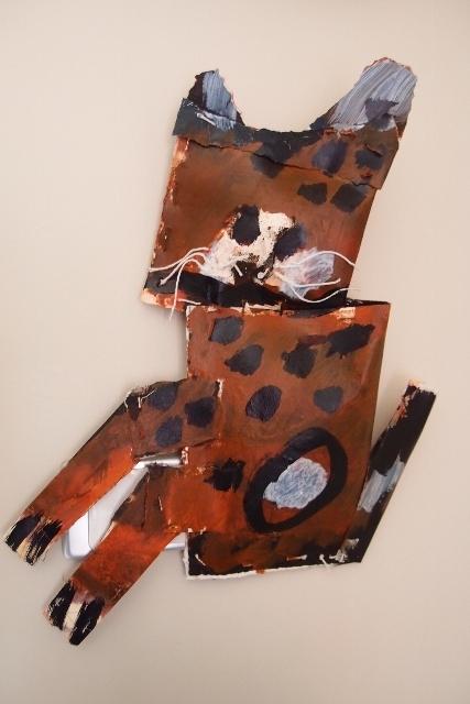 kim barter paper sculpture