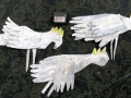 tin wall birds